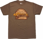 Cheers Round Top Sign T Shirt Sheer