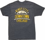 Chicago Windy City T Shirt Sheer