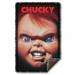 Childs Play 3 Poster Throw Blanket