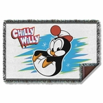 Chilly Willy Throw Blanket
