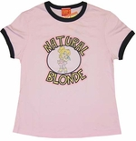 Chipmunks Natural Blonde Baby Tee