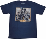 CHiPs Ponch Jon T Shirt Sheer