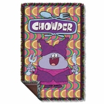 Chowder Hungry Throw Blanket