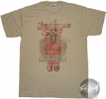 Christmas Story Deranged Bunny T-Shirt