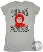 Christmas Story Oh Fudge Baby Tee