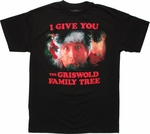 Christmas Vacation Griswold Family Tree T Shirt
