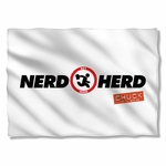 Chuck Nerd Herd Pillow Case