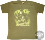 Chuck Norris Missing Action War Over T-Shirt Sheer