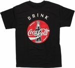 Coca-Cola Drink Over Logo T Shirt
