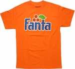 Coca-Cola Fanta Logo Orange T Shirt