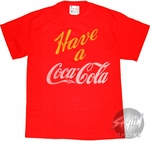 Coca-Cola Have One T-Shirt