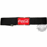 Coca-Cola Logo Belt