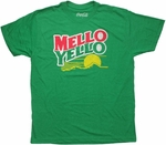 Coca-Cola Mello Yello Heather Green T Shirt Sheer