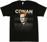 Conan OBrien Name T Shirt Sheer