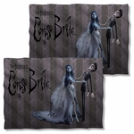 Corpse Bride Bride and Groom FB Pillow Case