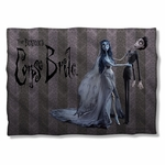 Corpse Bride Bride and Groom Pillow Case