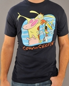 Cow and Chicken T Shirt