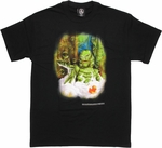Creature from the Black Lagoon Bubble Bath T Shirt