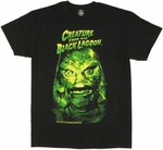 Creature from the Black Lagoon Head T Shirt
