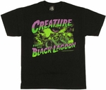 Creature from the Black Lagoon Montage T-Shirt