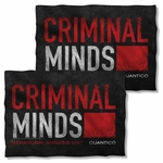 Criminal Minds Logo FB Pillow Case