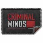 Criminal Minds Logo Throw Blanket