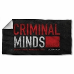 Criminal Minds Logo Towel
