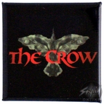 Crow Square Button