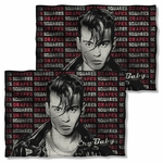 Cry Baby Drapes & Squares FB Pillow Case