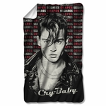 Cry Baby Drapes & Squares Fleece Blanket