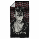Cry Baby Drapes & Squares Towel
