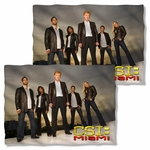 CSI: Miami Cast FB Pillow Case