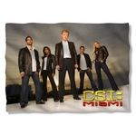 CSI: Miami Cast Pillow Case