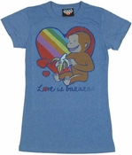 Curious George Love Baby Tee