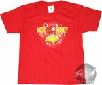 Curious George Music Youth T-Shirt