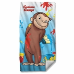 Curious George Paint Towel