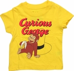 Curious George Sit Hat Infant T Shirt