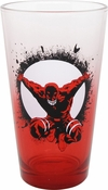 Daredevil Circle Red Gradient Pint Glass