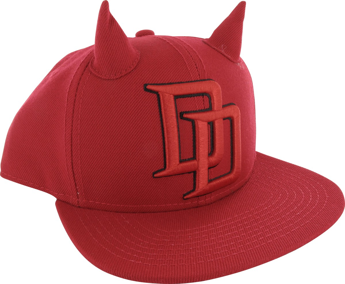 daredevil dd logo horned snapback hat