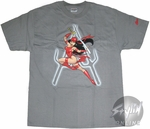 Daredevil Elektra Grab Sword T-Shirt