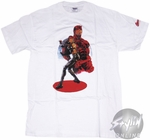 Daredevil Elektra Red Circle T-Shirt