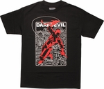 Daredevil Lined City T-Shirt
