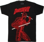 Daredevil Nervous System T Shirt Sheer