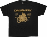 Daughtry Here We Go T Shirt