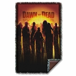 Dawn of the Dead Poster Throw Blanket