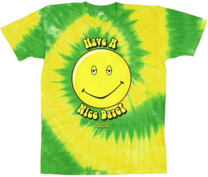 Dazed and Confused Tie Dye T-ShirtDazed And Confused Smiley Face
