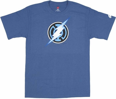 DC Comics Blue Lantern Flash T-Shirt