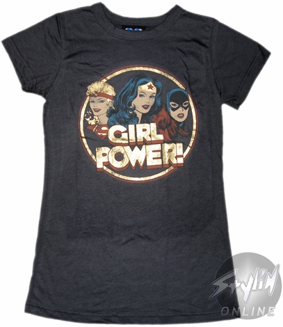 DC Comics Girl Power Baby Tee