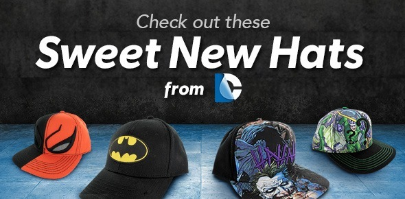 Featured DC Comics Hats
