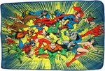 DC Comics Hero Burst Blanket
